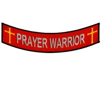 Prayer Warrior Bottom Rocker patch