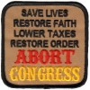 ABORT CONGRESS PATCH