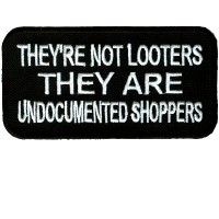 Not Looters They Are Undocumented Shoppers