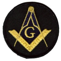 Masonic G patch sm