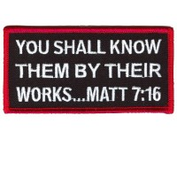Matt 7 16 patch